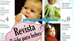 Revista de Patrones Dos Agujas para Bebés PDF