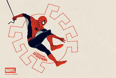 The Amazing Spider-Man Regular Edition Marvel Handbill by Matt Ferguson & Grey Matter Art