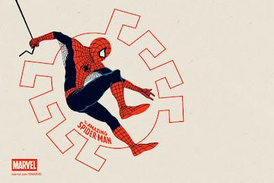 The Amazing Spider-Man Regular Edition Marvel Handbill by Matt Ferguson & Grey Matter Art