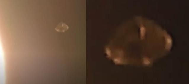 Impressive Spacecraft Flying Around The Sun Caught On Camera  Alien-spacecraft-sun-alien-intelligence%2B%25282%2529