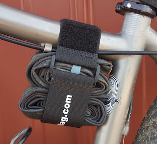 bicycle frame strap on bike with tubes