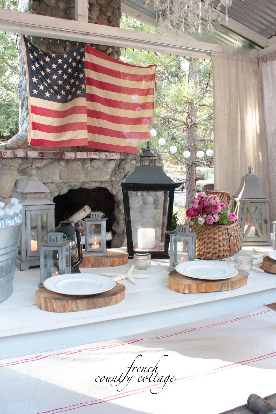 Inspirations Cozy Lowes Linoleum Flooring For Classy: FRENCH COUNTRY COTTAGE