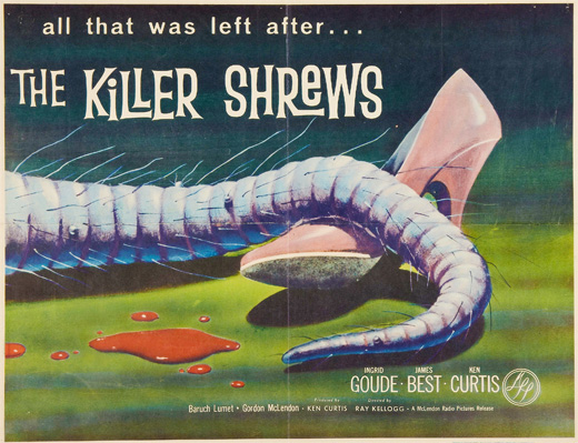 Poster - The Killer Shrews (1959)