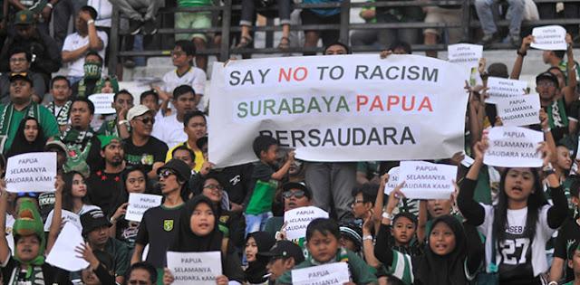 Pesan Damai Bonek Untuk Papua Dapat Pujian Kapten Tim Persebaya