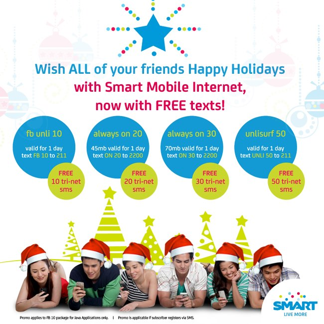 Smart Free Tri-Net Texts When You Register To Mobile Internet