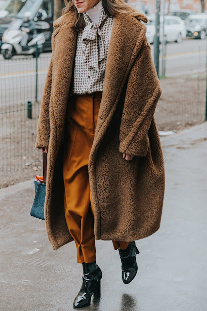 Milan Fashion Week F/W 18-19 Street Style
