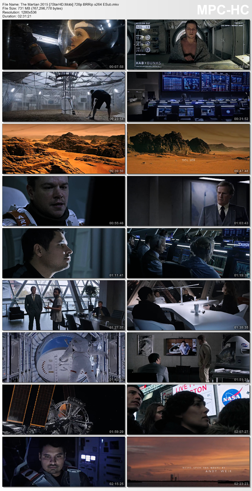 the martian 2015 movie download in hindi 480p