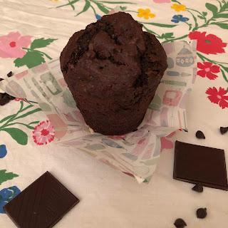 Muffins géants triple chocolat