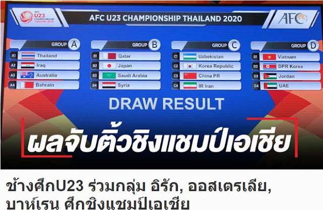 """Nóng kết quả bốc thăm VCK U23 châu Á - U23 Việt Nam: Báo Thái run rẩy lo cho """"Voi chiến"""" 5"""