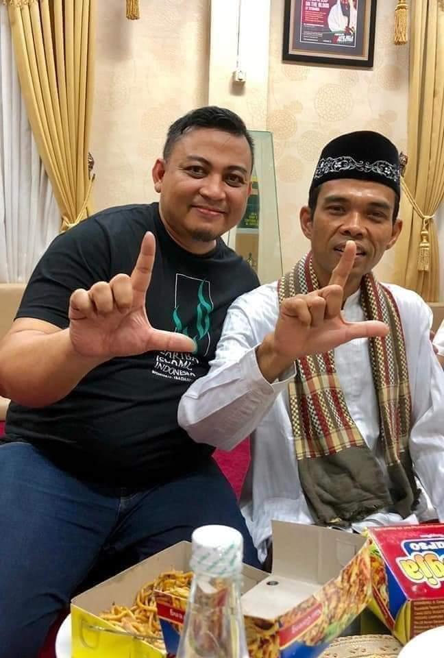 Terulang, Isyarat Jari Ustadz Abdul Somad Dipolitisasi