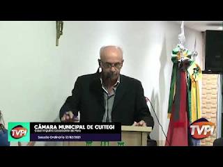 Vereador Raul Meireles usa espaço da tribuna e comentou diversos assuntos