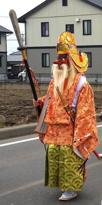 人文研究見聞録:大縣神社の奇祭・豊年祭2015(猿田彦)
