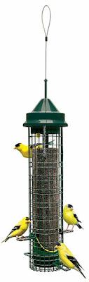 Squirrel-Buster Brome Finch Bird Feeder