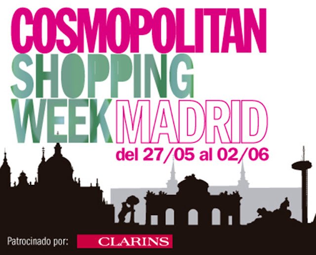 Cosmopolitan shopping week Madrid, SNB BLOG, Nery Hdez