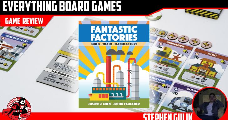 Fantastic Factories Kickstarter Preview - EverythingBoardGames.com image