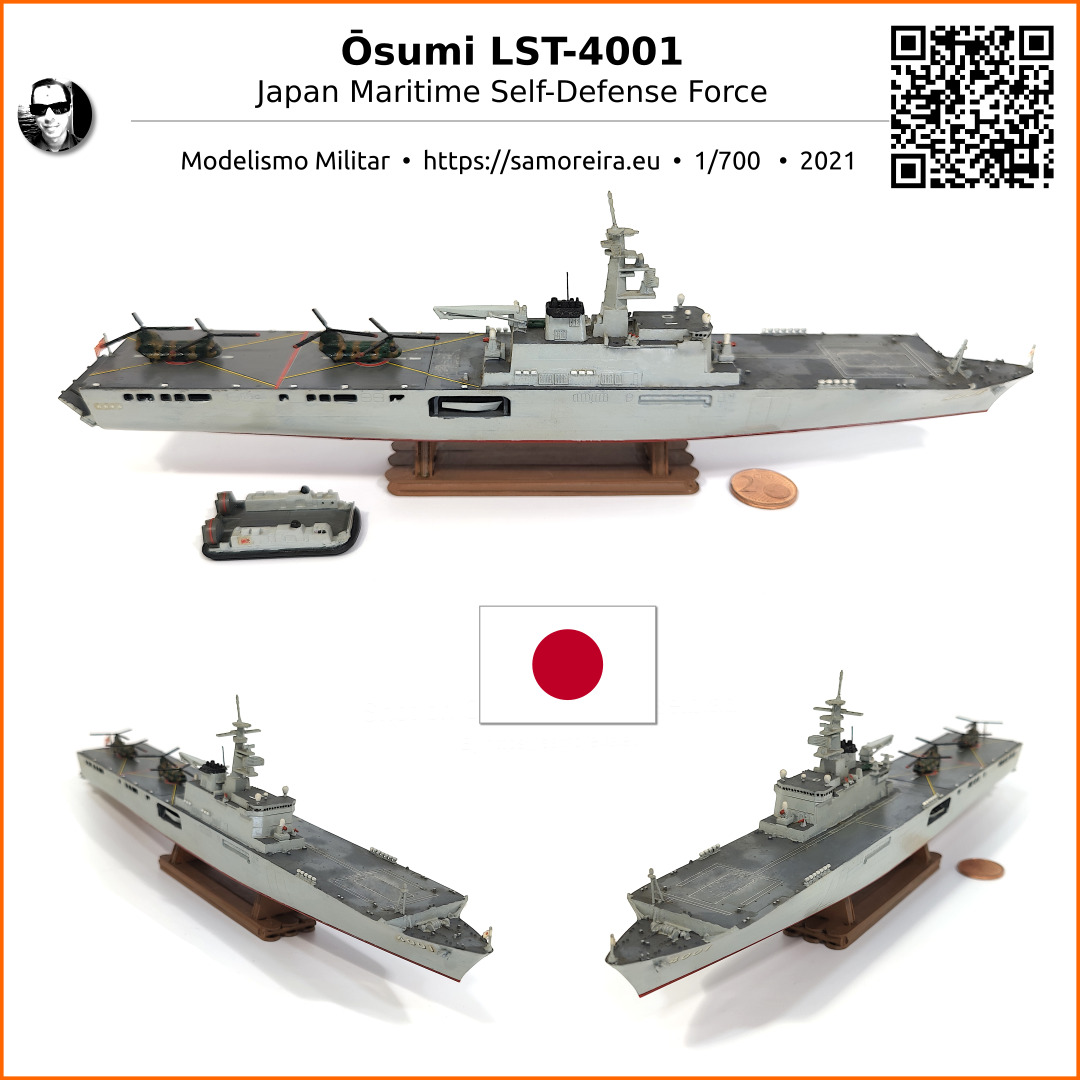 Ōsumi LST-4001 ~ Japan Maritime Self-Defense Force
