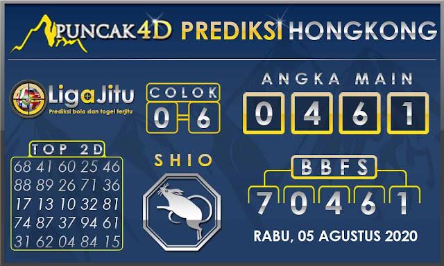 PREDIKSI TOGEL HONGKONG PUNCAK4D 05 AGUSTUS 2020
