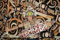 Desa Budaya Pampang - Borneo Fan