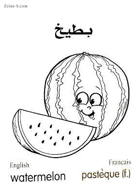 بطيخ Watermelon - Pasteque