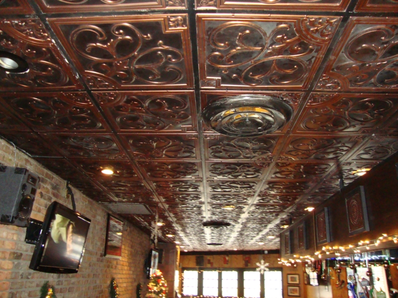 Tin Ceiling Tiles All About False Ceiling