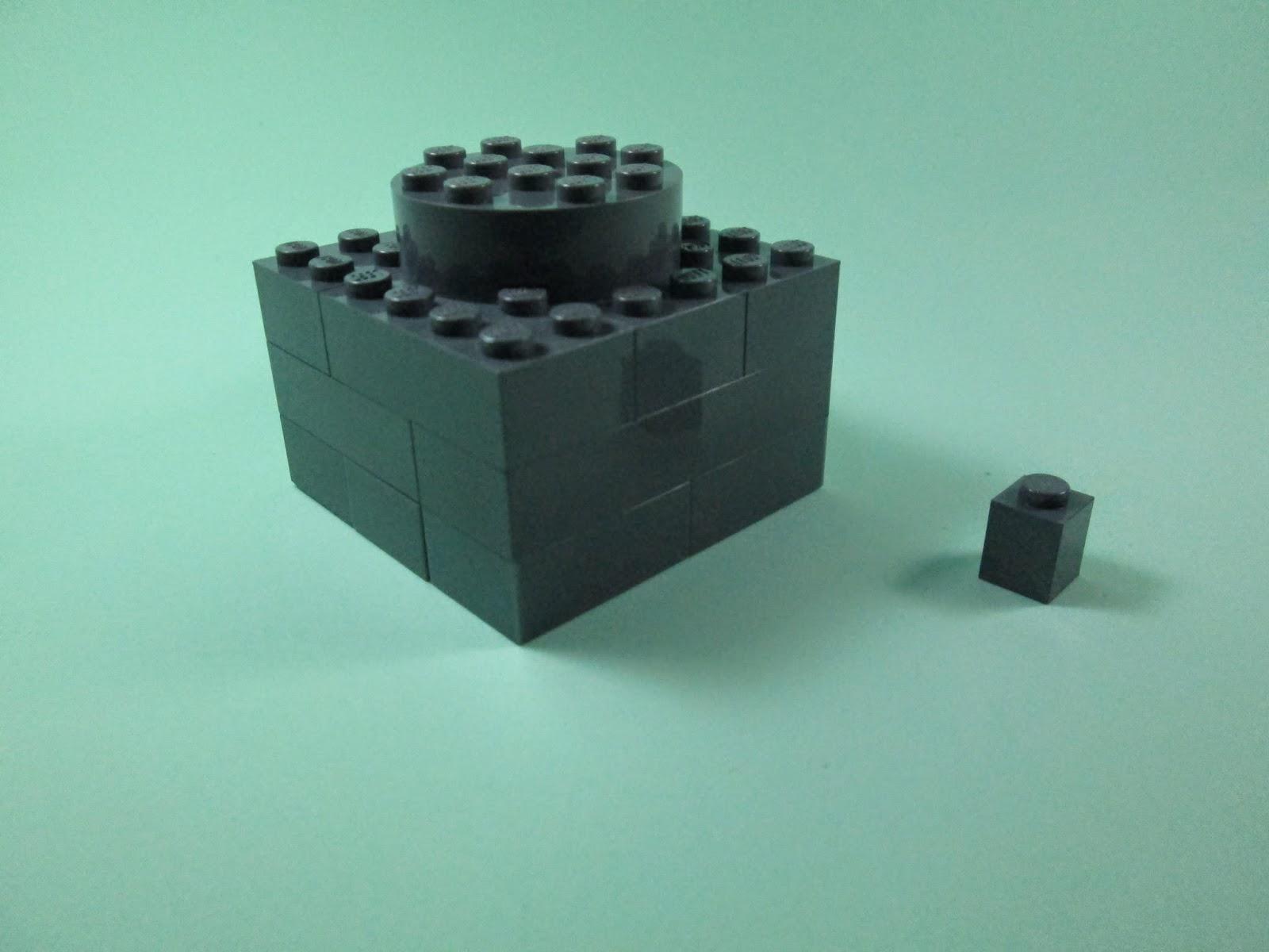 MOC LEGO - Peças LEGO feitas com peças LEGO.