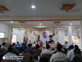 भारतीय जनता पार्टी छिंदवाड़ा द्वारा पार्टी कार्यालय में प्रेस वार्ता आयोजित की गई