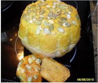 Pan de calabaza thermomix