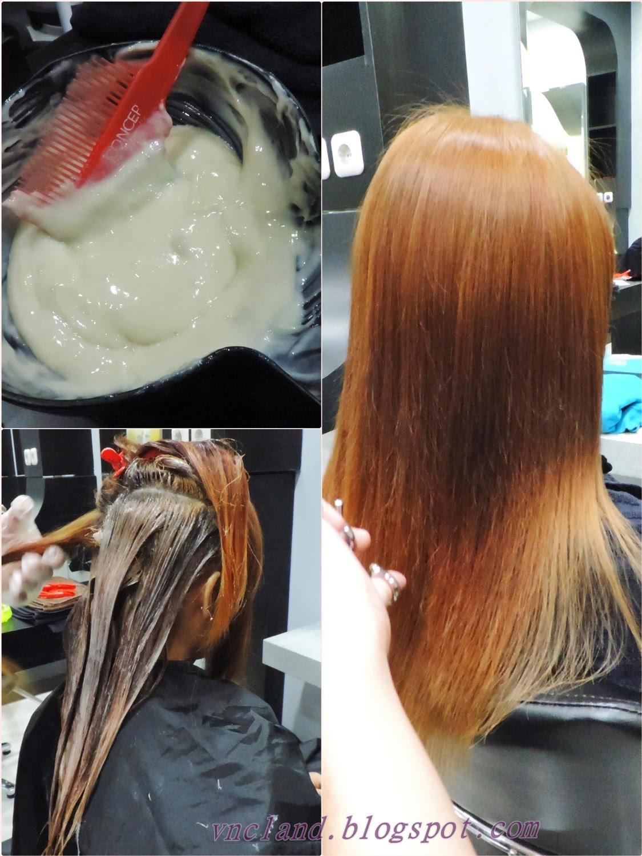 Vrizillya Navaera Clayvia Makeover With Makarizo Hair Coloring