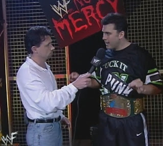 WWE / WWF - Michael Cole interviews WWE European Champion Shane McMahon