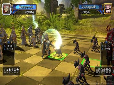 棋士風雲錄(Battle vs. Chess),華麗的3D西洋棋戰鬥策略遊戲!