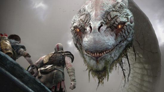 God of War 2018 PS4 - Rencontre Avec Le Serpent Monde - Ultra HD 4K 2160p