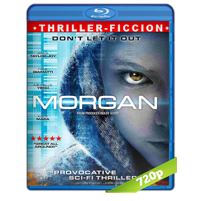 Morgan (2016) BRRip 720p Audio Trial Latino-Castellano-Ingles 5.1