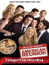 American Reunion (2012) BRRip Original [Telugu + Tamil + Hindi + Eng] Dubbed Movie Watch Online Free