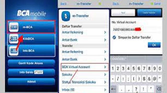 Cara Top Up GoPay Via M-Banking BCA