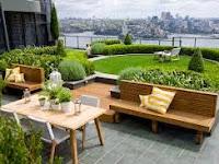 Roof Garden, Alternatif Agar Rumah Lebih Asri Dan Hijau