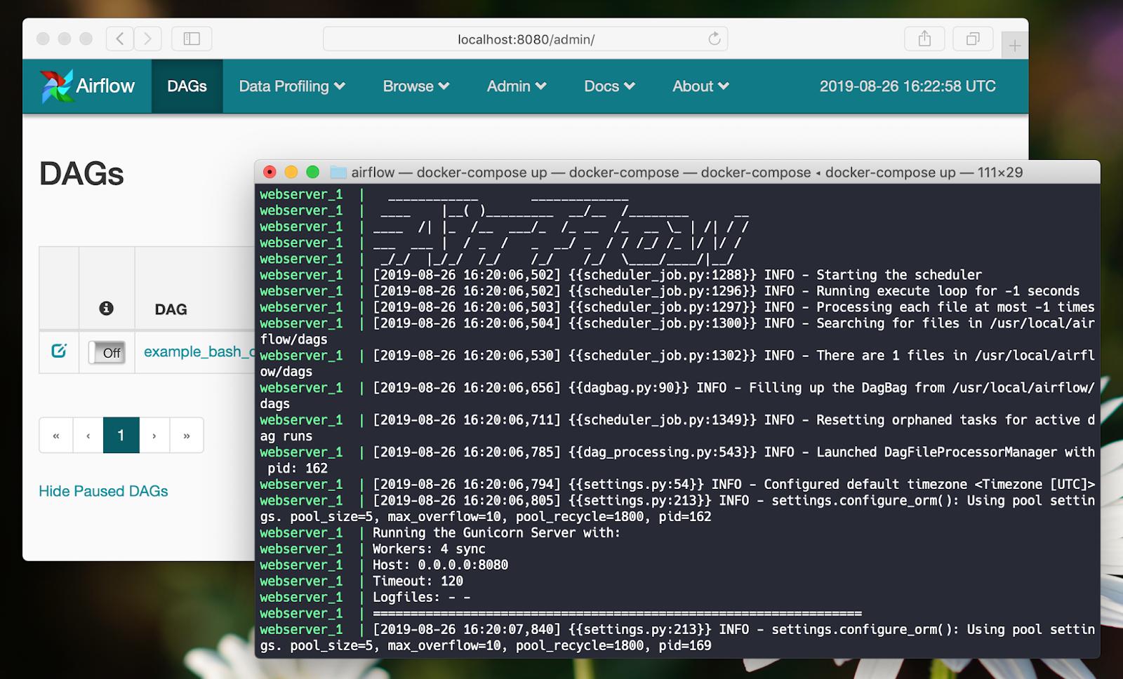 Cài đặt Apache Airflow với Docker Compose