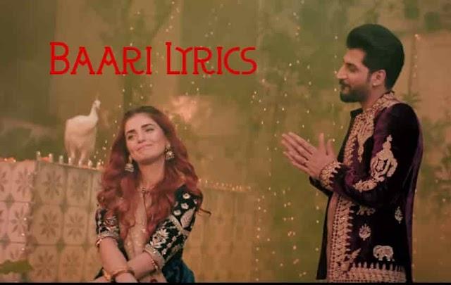 Baari Lyrics by Bilal Saeed and Momina Mustehsan