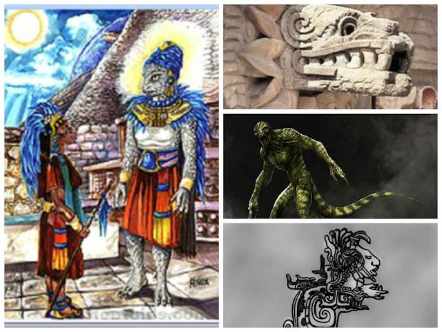 Resultado de imagen para mayas y reptiles