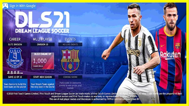 تحميل دريم ليج سوكر 2021 بمود فريق برشلونة