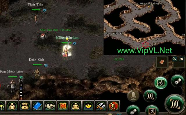 Nhiệm vụ Xuất Sư Game Võ lâm JX1 Efunvn Mobile 3