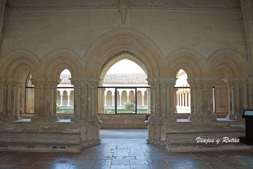 Interior de la sala capitular del Monastero de San Andrés del Arroyo