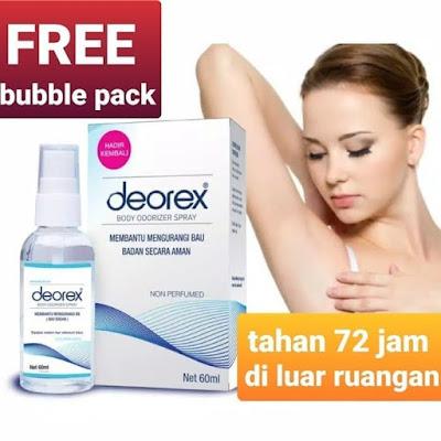 Deorex Body Odorizer Spray Penghilang Bau Badan