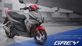 Yamaha Aerox 125LC Grey