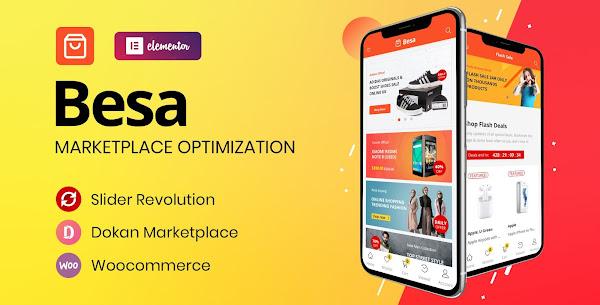 Besa 1.2.10 -  Elementor Marketplace WooCommerce Theme nulled
