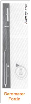 Gambar Barometer Fortin - Pengertian dan Jenis Barometer