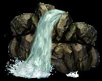 cachoeira em png
