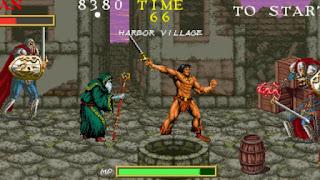 Arcade Warrior Blade Rastan Saga Episode III