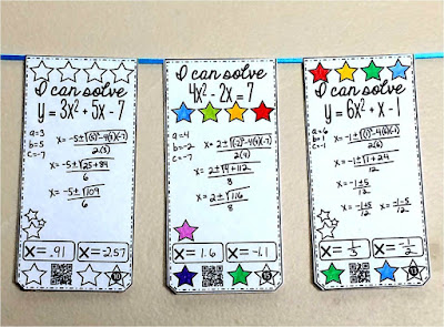 quadratic formula math pennant