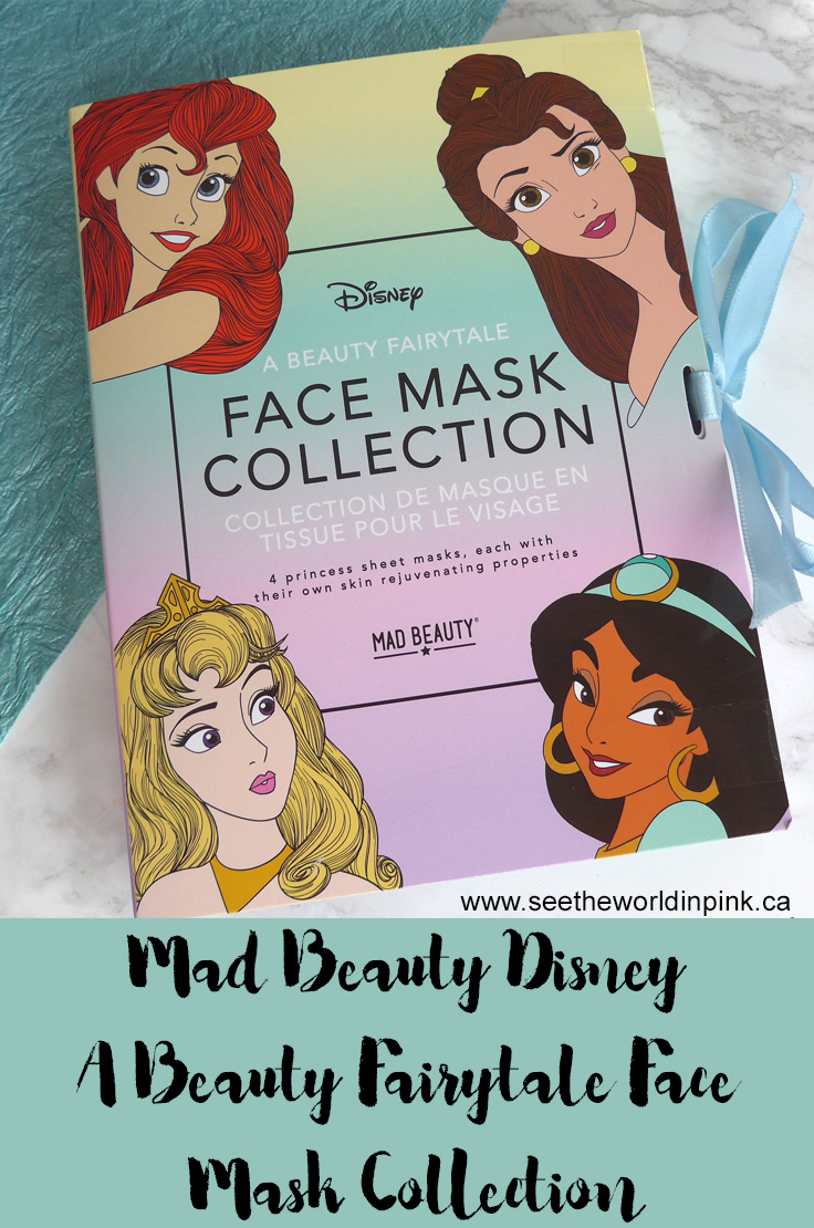 Mad Beauty Disney Princess Face Mask Collection