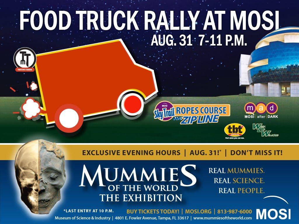 MOSI: Food Truck Rally at MOSI